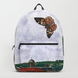 I made my mind a garden - to flourish Backpack