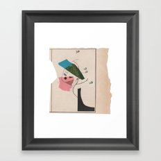 an impression of something beautiful Framed Art Print