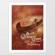 Steve Gunn + Thisquietarmy Art Print