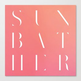 Deafheaven - Sunbather Canvas Print