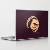 bukowski Laptop & iPad Skins featuring Bukowski by f_e_l_i_x_x