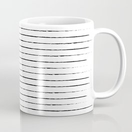 Lines on lines on stripes on lines Coffee Mug