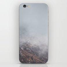 Cold breath iPhone & iPod Skin