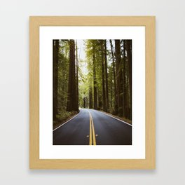 Road worthy Framed Art Print