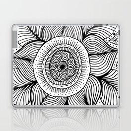 Doodle Flower Laptop & iPad Skin
