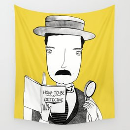 Sherlock Jr. Wall Tapestry