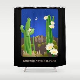 Saguaro National Park Shower Curtain