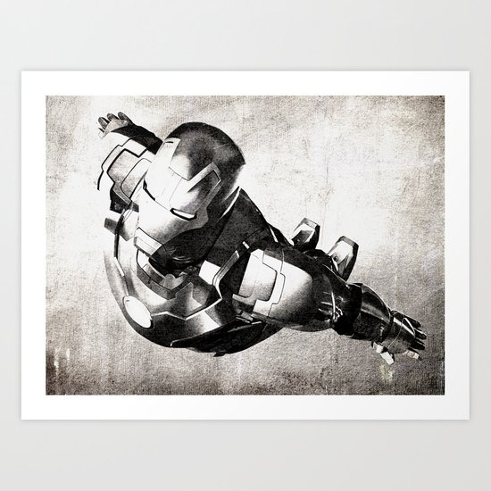 Iron Man III Art Print