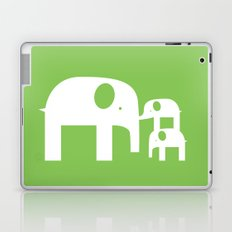 Green Elephants Laptop & iPad Skin