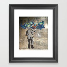 Free Logic Framed Art Print
