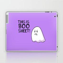 Grumpy Ghost Laptop & iPad Skin