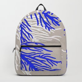 Coral Pattern Backpack