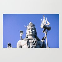 shiva Area & Throw Rugs featuring Shiva by Gabriel Fox