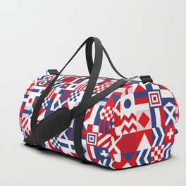 Red White and Blue Duffle Bag