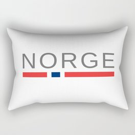 Norway Norge Rectangular Pillow