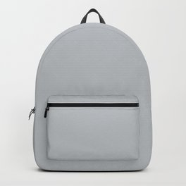 Silver #BDC2C7 Backpack