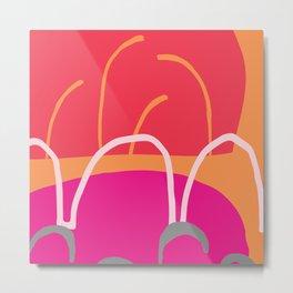 Abstract Design 3 Metal Print