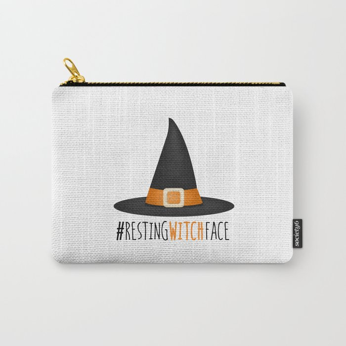 #RestingWitchFace Carry-All Pouch