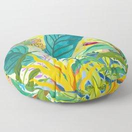 Paradise Jungle Floor Pillow