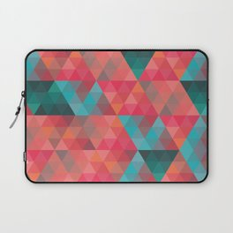 Abstract Geometric Pattern colorful triangles abstract art Laptop Sleeve