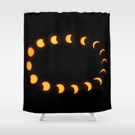 The Great American Eclipse Shower Curtain