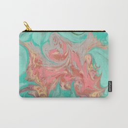 Hand marbeled paper 3 Carry-All Pouch