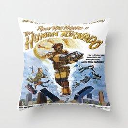Dolemite: The Human Tornado Throw Pillow