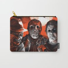 Freddy Krueger Jason Voorhees Michael Myers Super Villians Holiday Carry-All Pouch