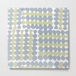 Geometric Two Metal Print