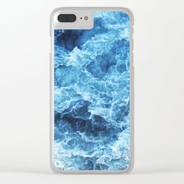Ocean Characters Clear iPhone Case