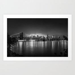 Bright Lights of New York Art Print