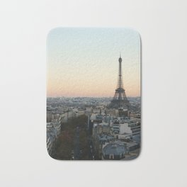 View from L'Arc de Triomphe Bath Mat