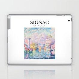 Signac - La Tour Rose, Marseille Laptop & iPad Skin