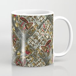 Myconhiza and Earthworms. Coffee Mug