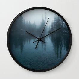 Grassi Lakes Wall Clock