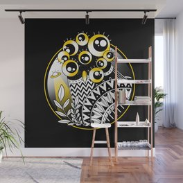Extraterrestrial Owl Wall Mural