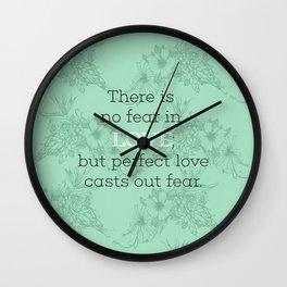 No Fear 02 Wall Clock