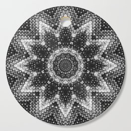Black and white relaxation Cutting Board
