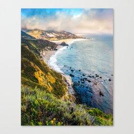 Big Sur First Light Canvas Print