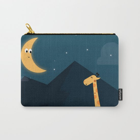 The Giraffe and the Moon Carry-All Pouch