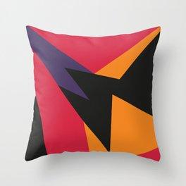 VII Raptors Throw Pillow