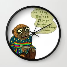 We don't see things as they are Wall Clock
