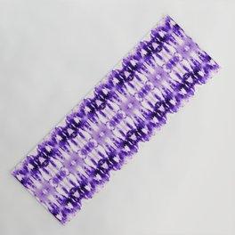 Tie Dye Purples Yoga Mat