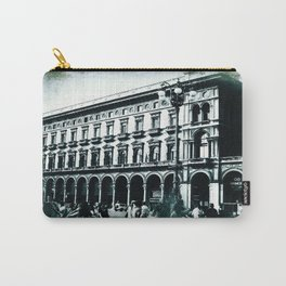 Vintage Textured Galleria Vittorio Emanuele II Carry-All Pouch