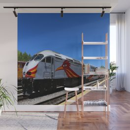 New Mexico Rail Runner Wall Mural