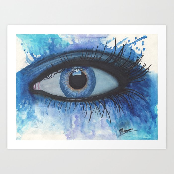 Art Abstract Images Of Eye