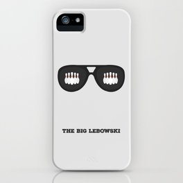 The Dude Minimalist iPhone Case