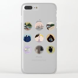 PHILKAS: A MINIMALIST LOVE STORY Clear iPhone Case