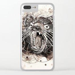 tasmanian devil Clear iPhone Case