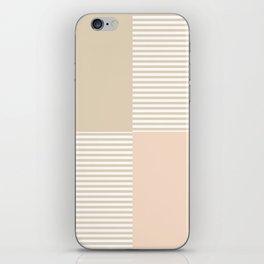 Dash in Tan iPhone Skin